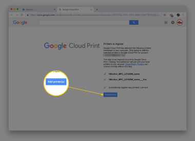 how to add USB printer to chromebook