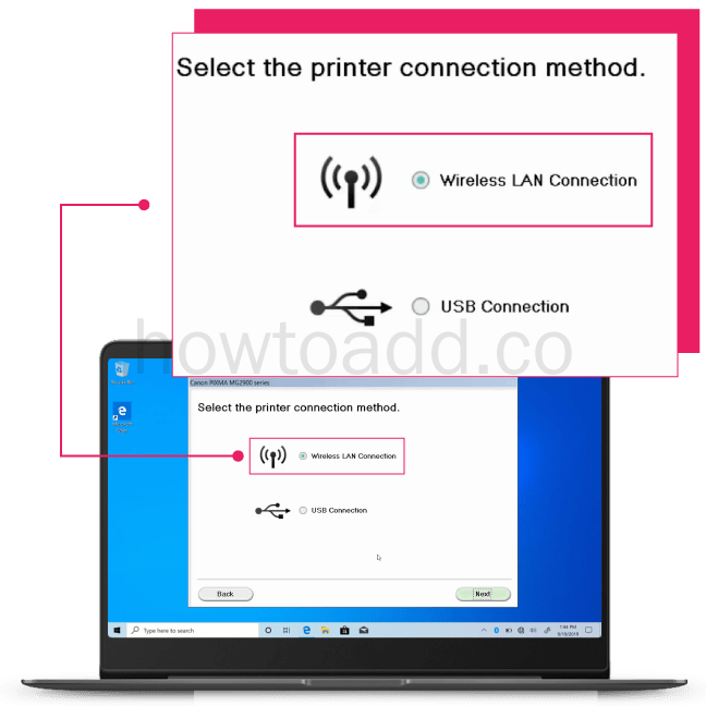 How To Connect Canon MG2922 To Network